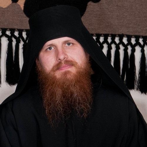 Hieromonk Ieremia, Monastery of Putna